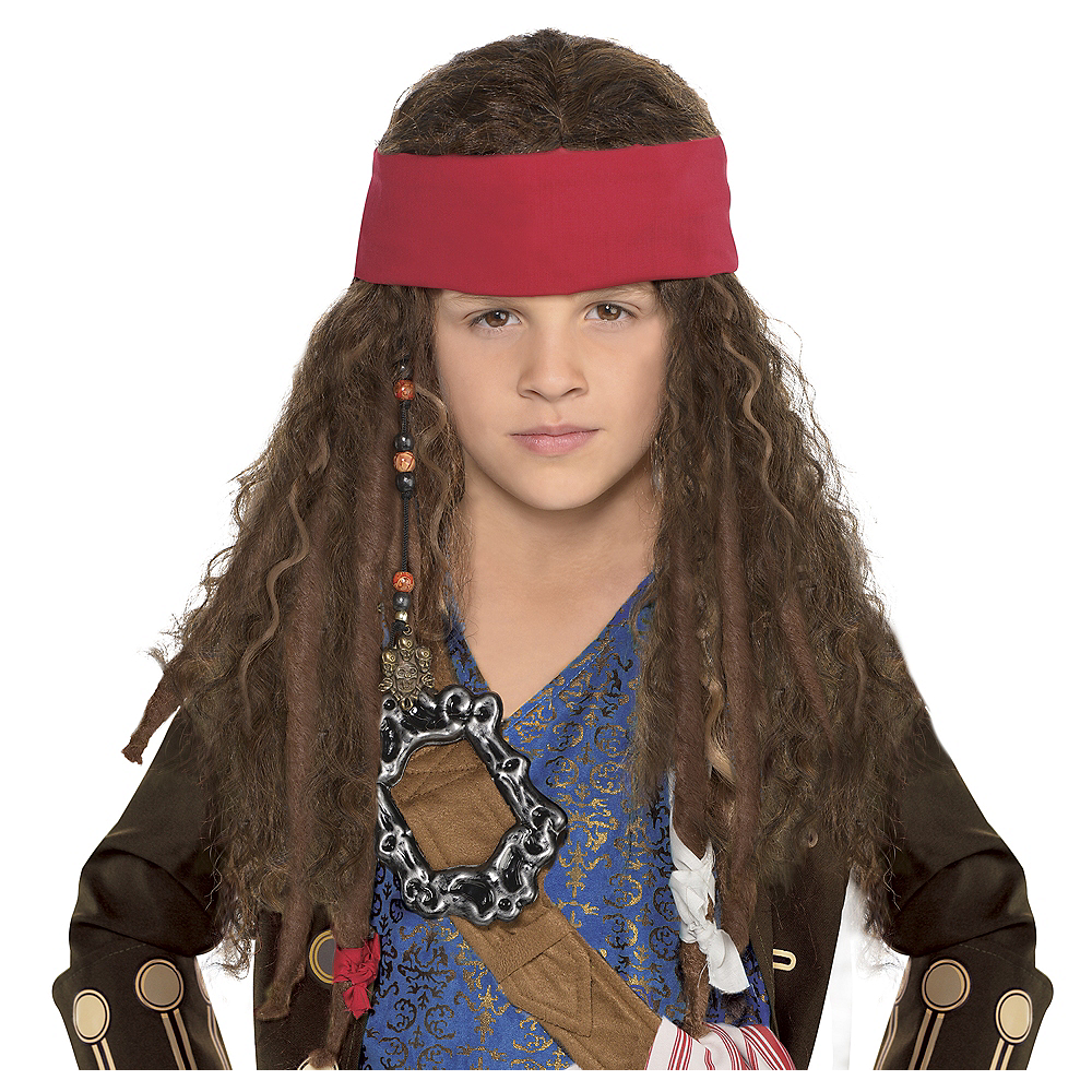 Child Jack Sparrow Wig Image #1