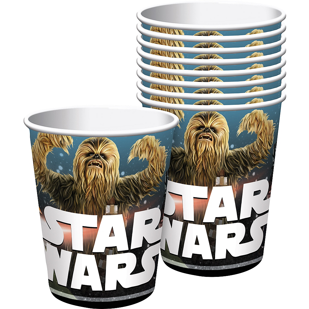 Star Wars Cups 8ct Image #1