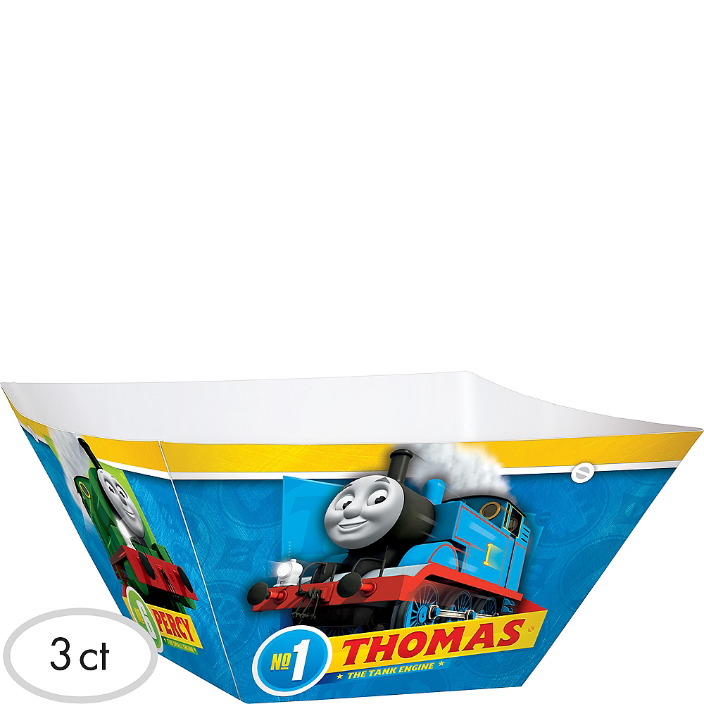 Thomas the Tank Engine Serving Bowls 3ct Image #1