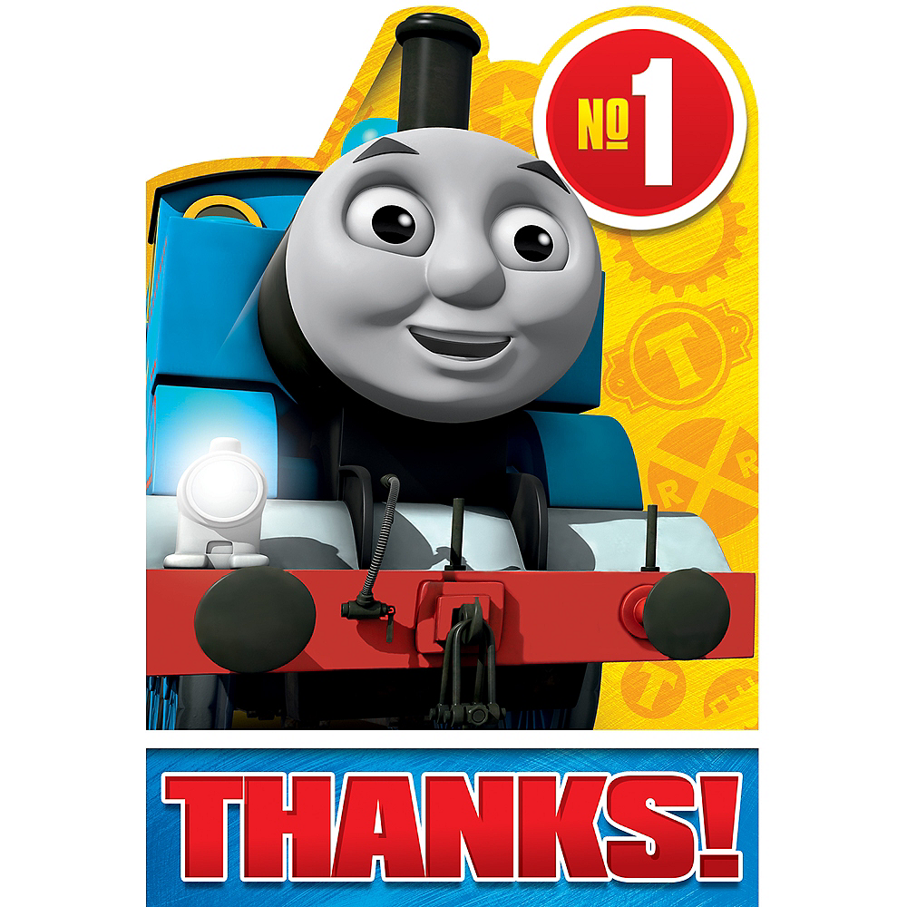 Thomas the Tank Engine Thank You Notes 8ct Image #1