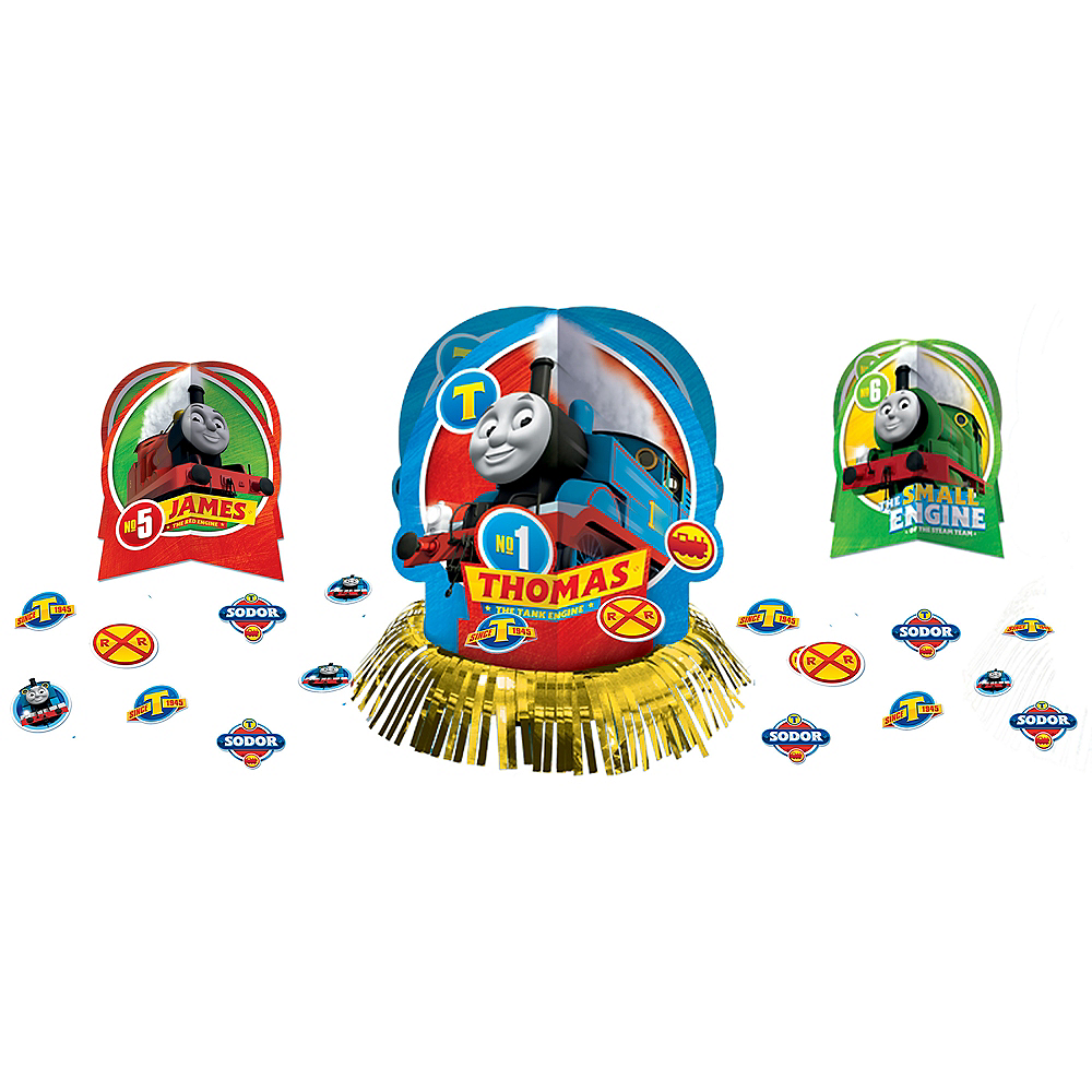 Thomas the Tank Engine Table Decorating Kit 23pc Image #1