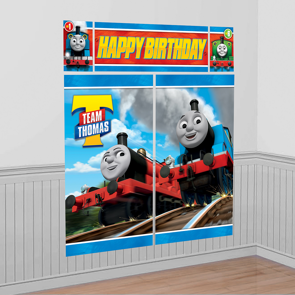 Thomas the Tank Engine Scene Setter 5pc Image #1