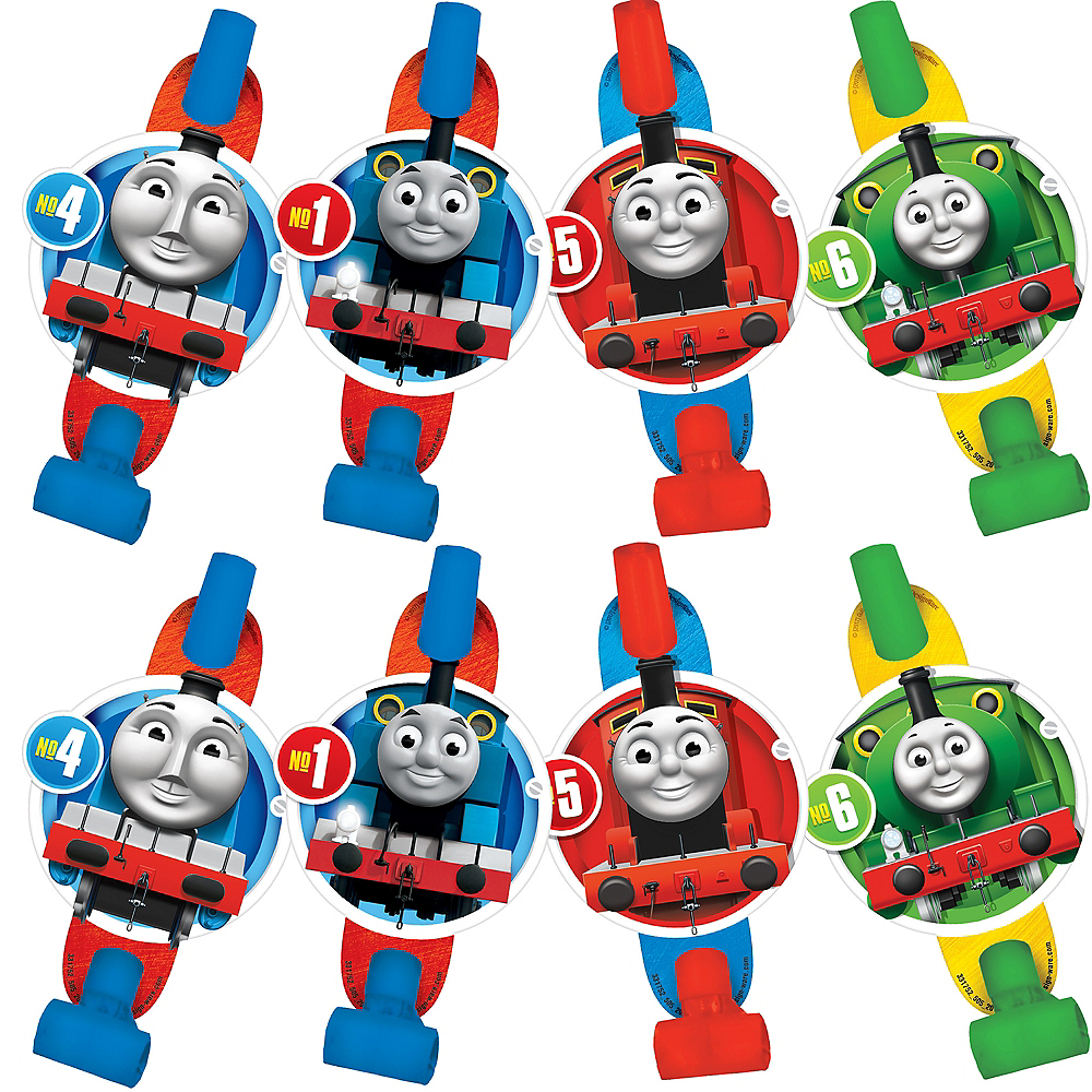 Thomas the Tank Engine Blowouts 8ct Image #1