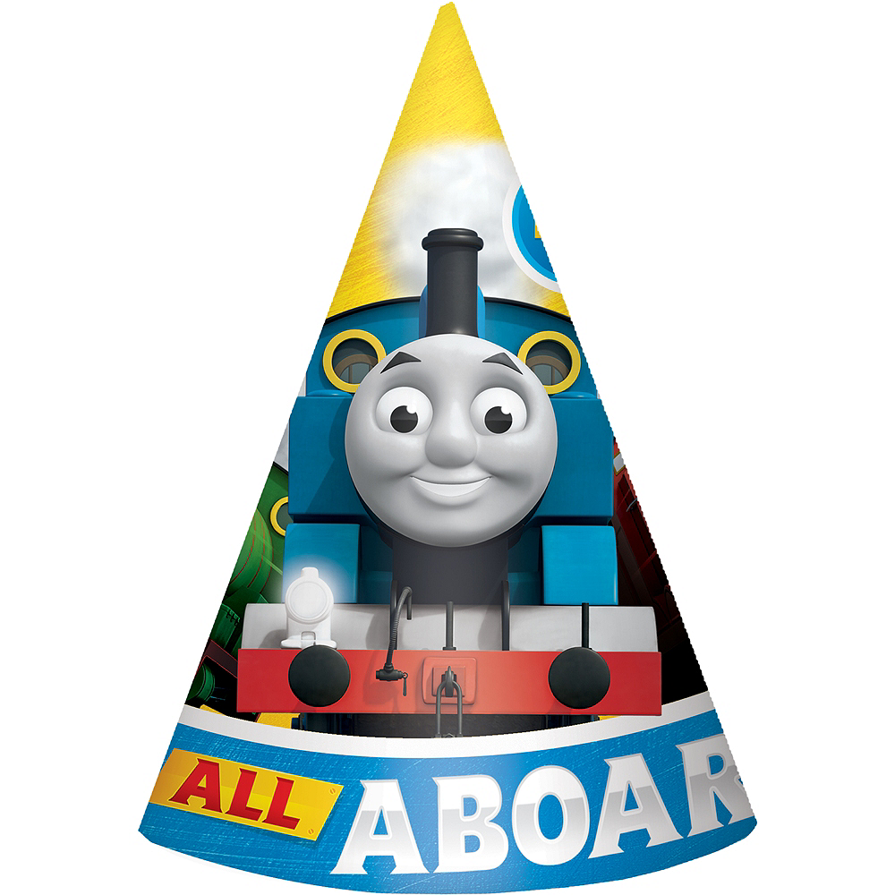 Thomas the Tank Engine Party Hats 8ct Image #1