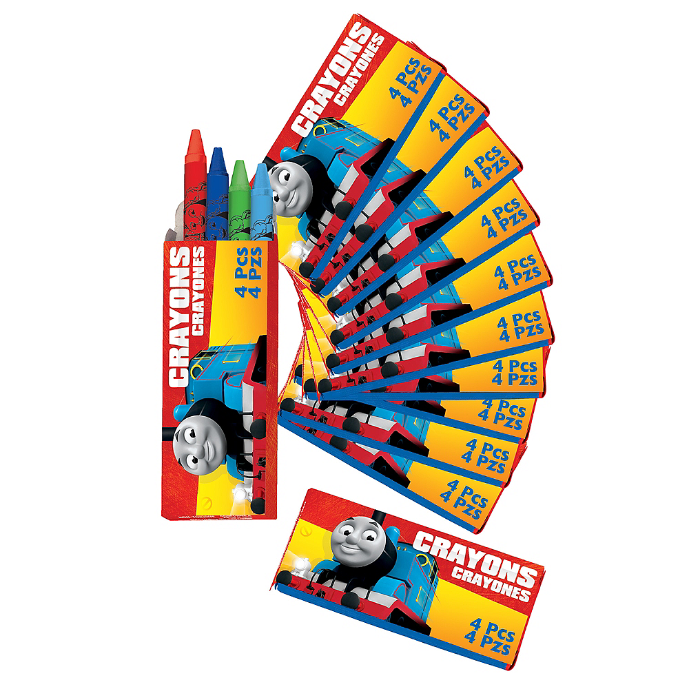 Nav Item for Thomas the Train Crayon Boxes 12ct Image #1