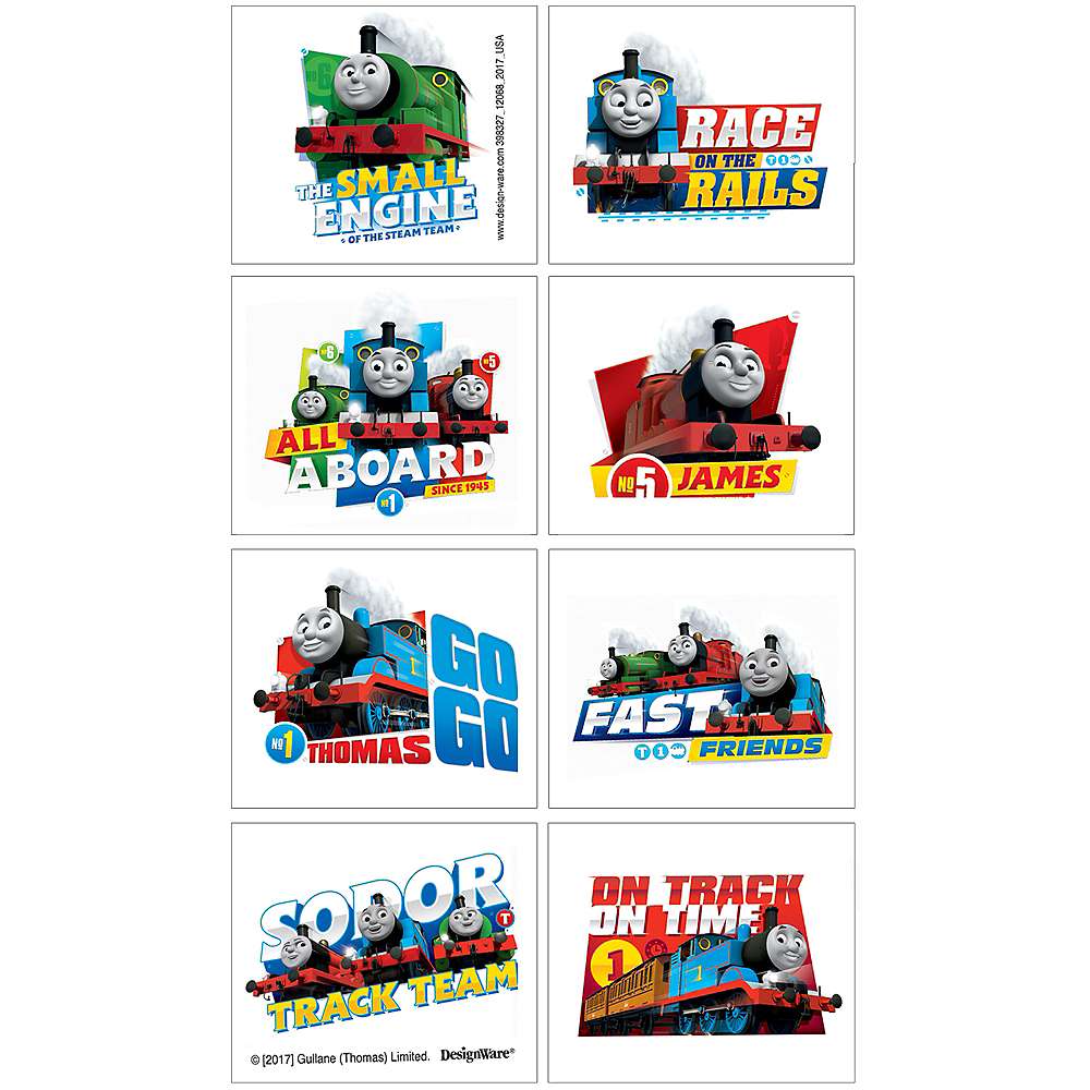Thomas the Tank Engine Tattoos 1 Sheet Image #1