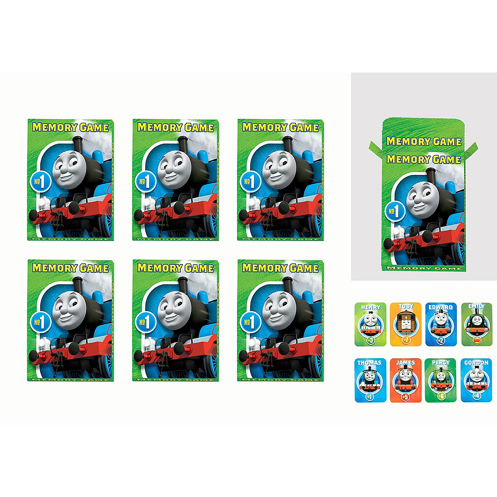 Thomas the Tank Engine Memory Match Games 6ct Image #1