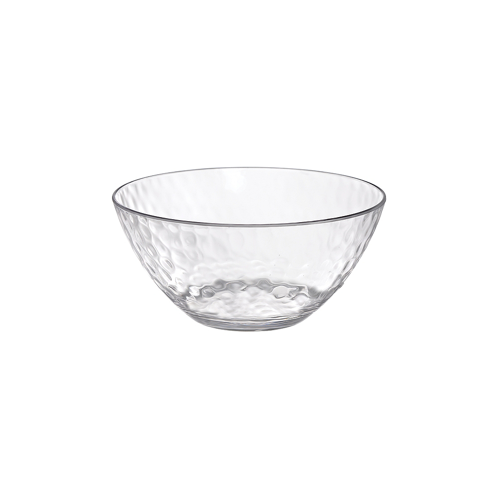 Nav Item for CLEAR Premium Plastic Hammered Bowl Image #1