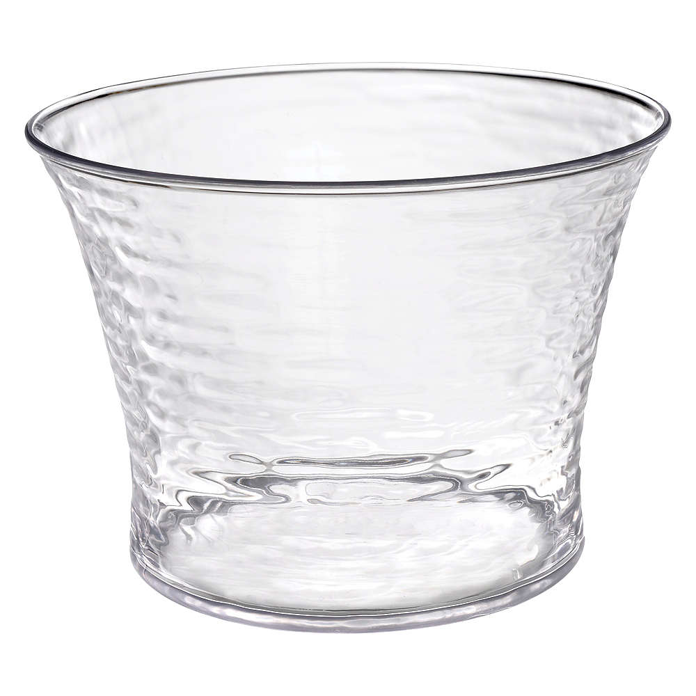 CLEAR Premium Plastic Ice Bucket Image #1