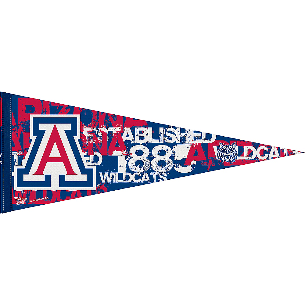 Nav Item for Arizona Wildcats Pennant Flag Image #1