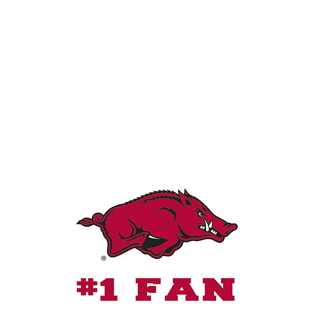 Arkansas Razorbacks #1 Fan Decal Image #1