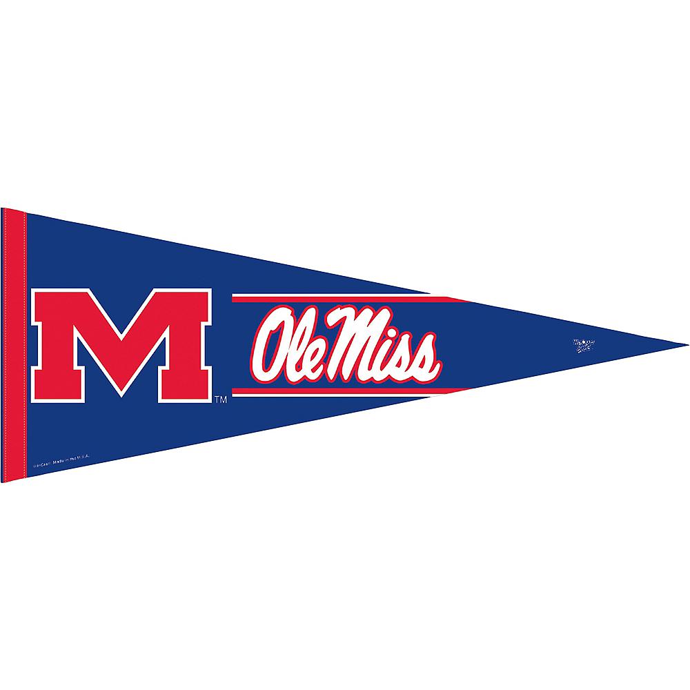 Ole Miss Rebels Pennant Flag Image #1