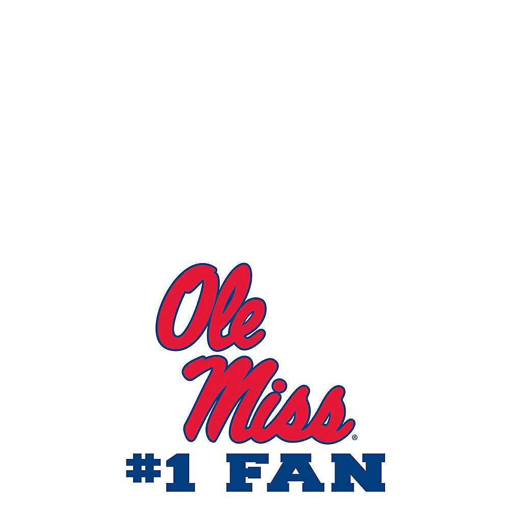 Ole Miss Rebels #1 Fan Decal Image #1