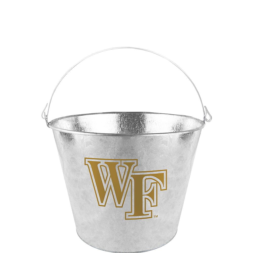 Wake Forest Demon Deacons Galvanized Bucket Image #1