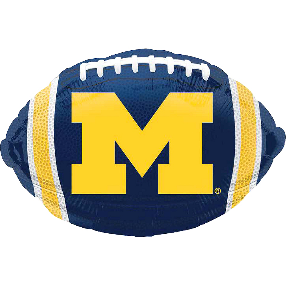 Nav Item for Michigan Wolverines Balloon - Football Image #1