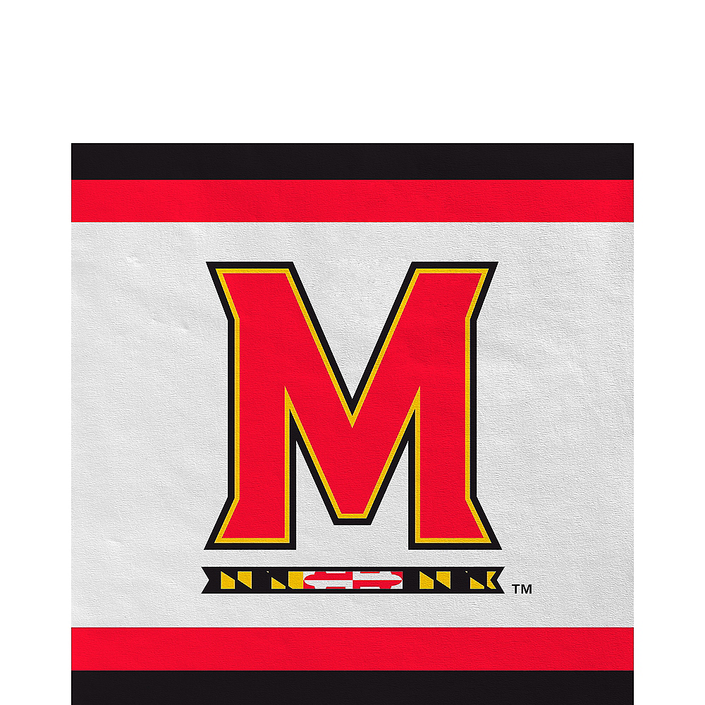 Maryland Terrapins Lunch Napkins 20ct Image #1