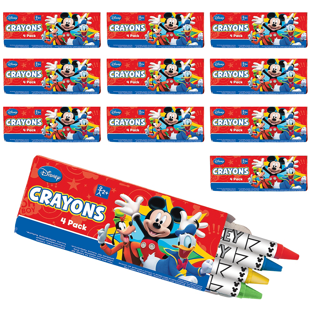 Nav Item for Mickey Mouse Crayon Boxes 48ct Image #1