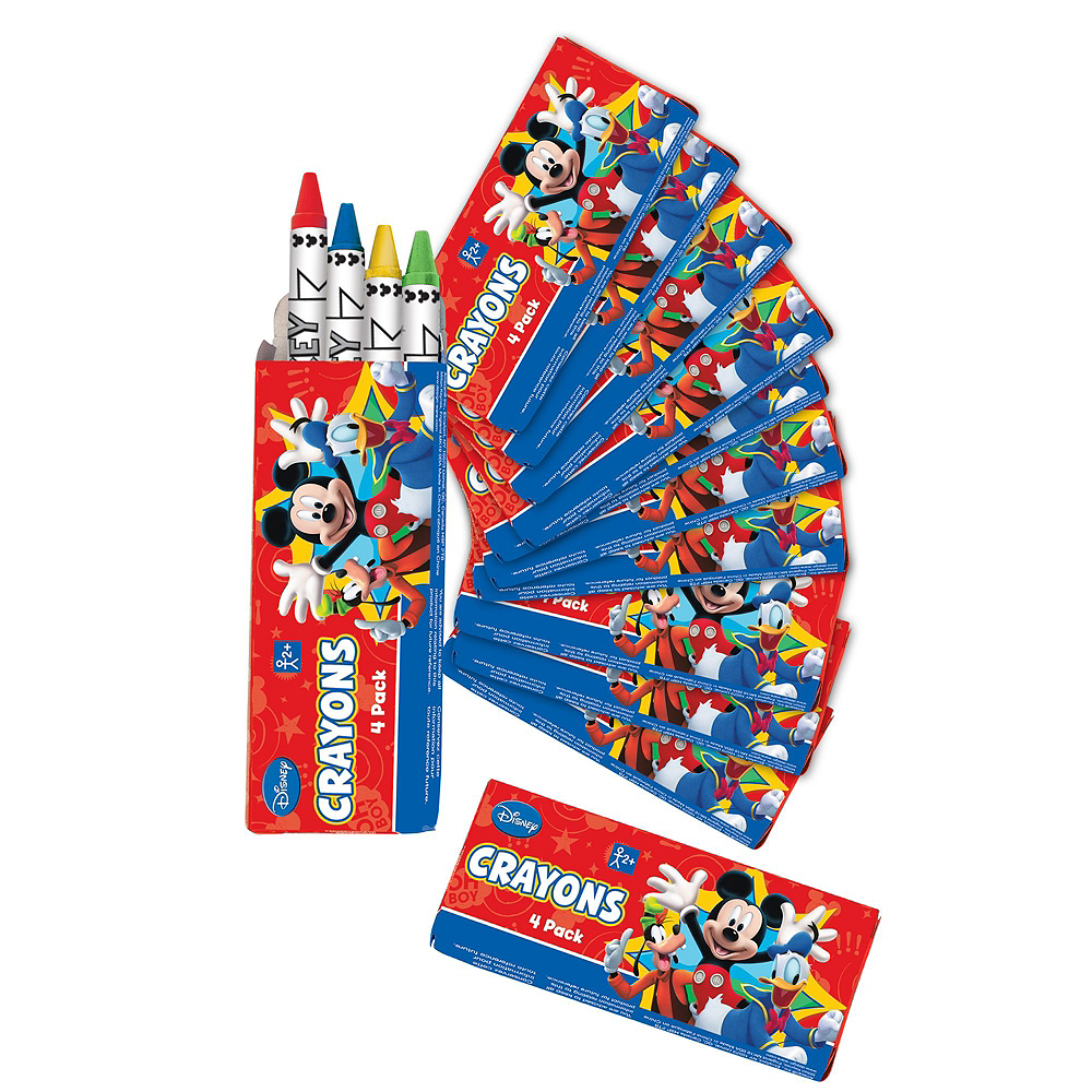 Mickey Mouse Crayon Boxes 48ct Image #2