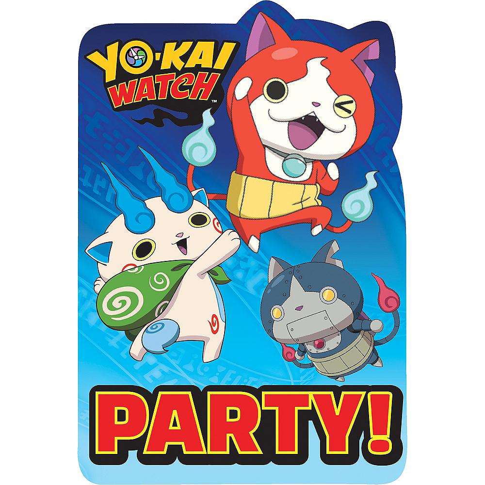 Yo-Kai Watch Invitations 8ct Image #1