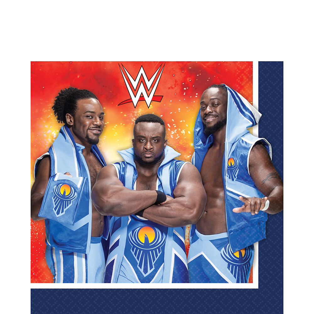 WWE Lunch Napkins 16ct Image #1