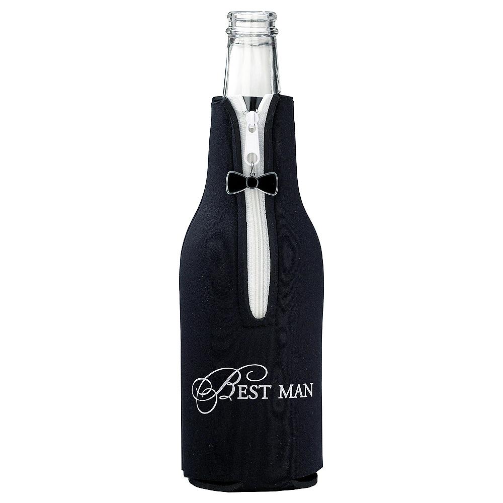 Best Man Bottle Coozie Image #1