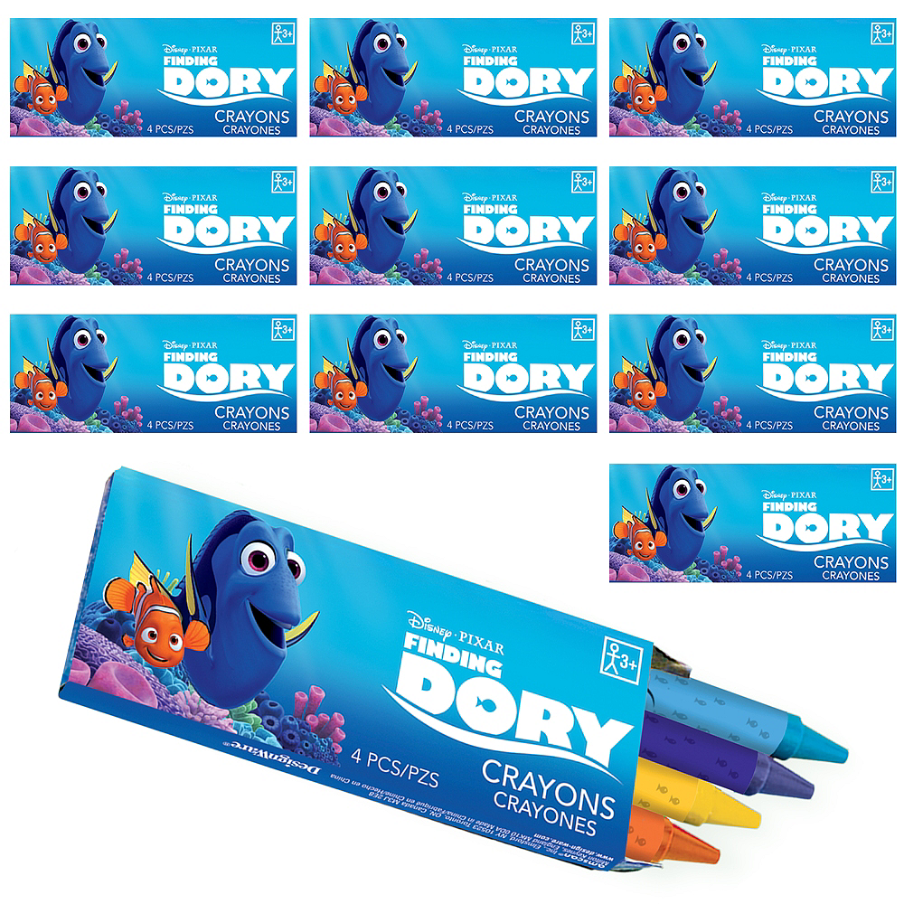 Nav Item for Finding Dory Crayon Boxes 48ct Image #1