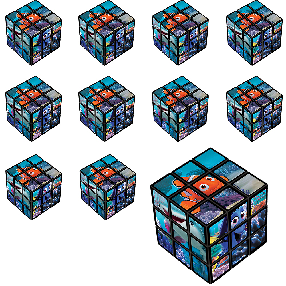Finding Dory Puzzle Cubes 24ct Image #1