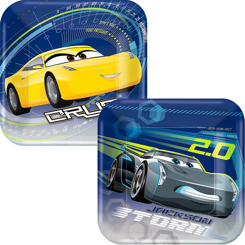 Cars 3 Dessert Plates 8ct Image #1