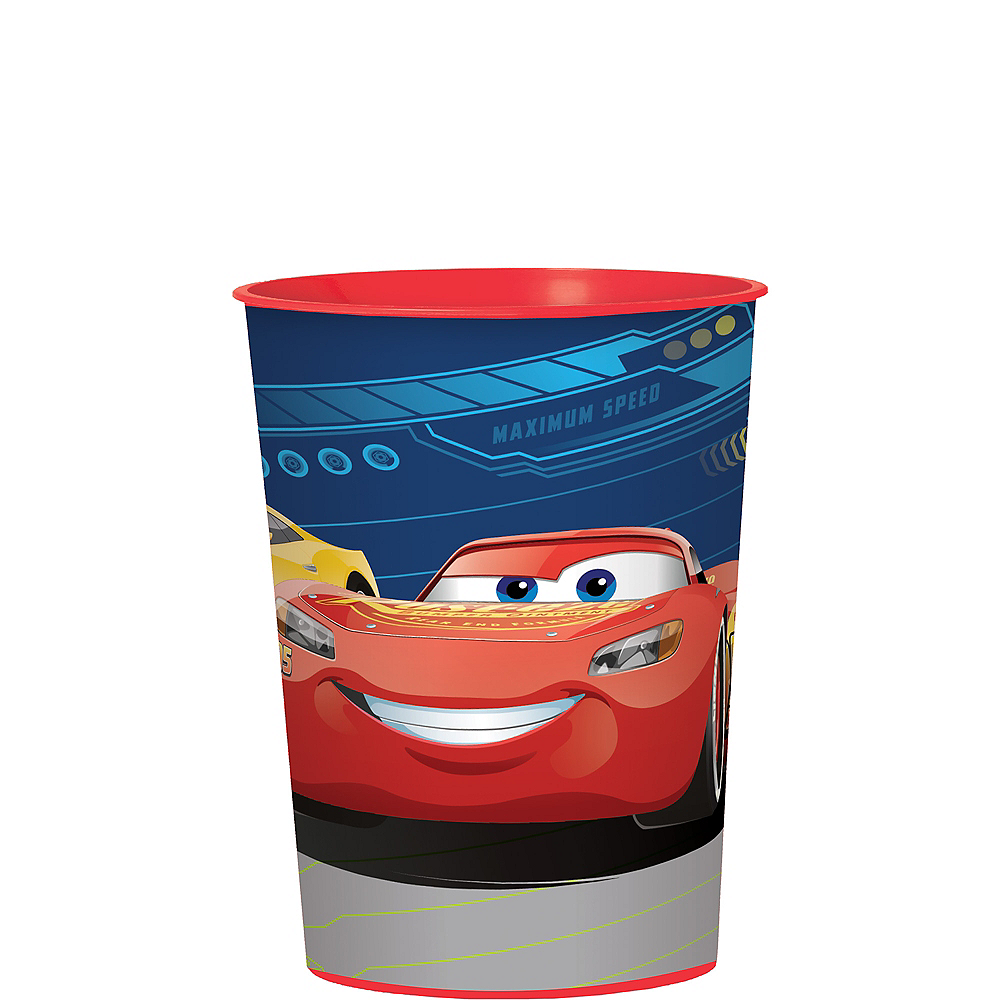 Cars 3 Favor Cup Image #1