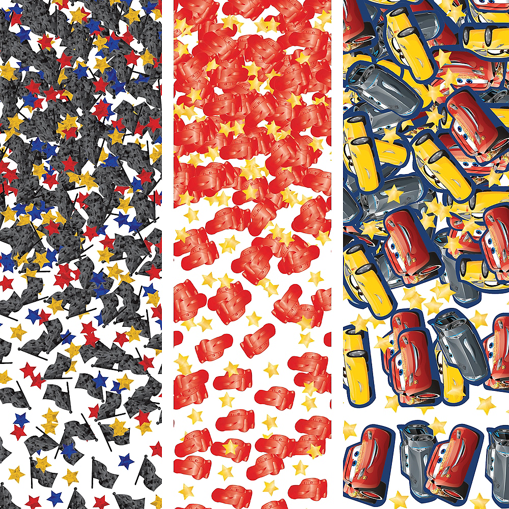 Nav Item for Cars 3 Confetti Image #1