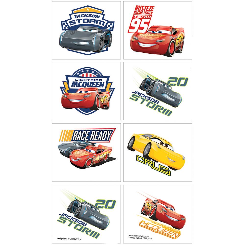 Cars 3 Tattoos 1 Sheet Image #1