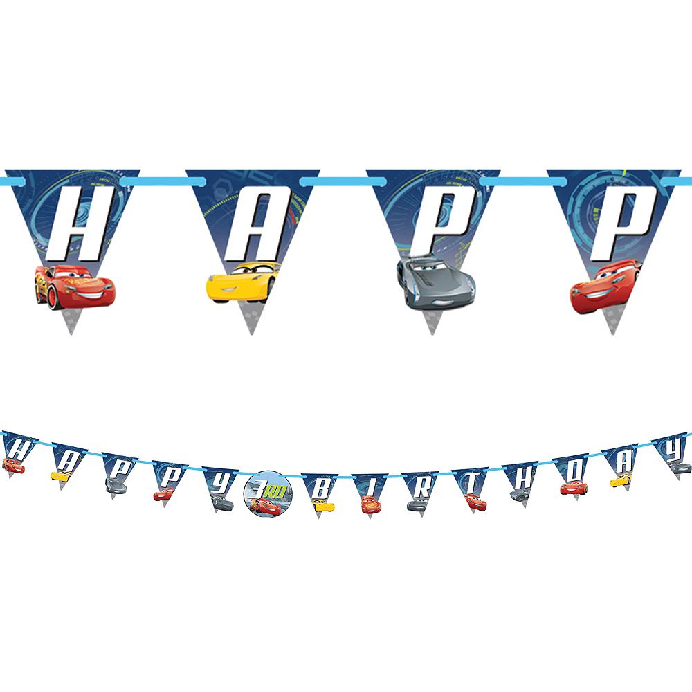 Cars 3 Birthday Banner Kit Image #1
