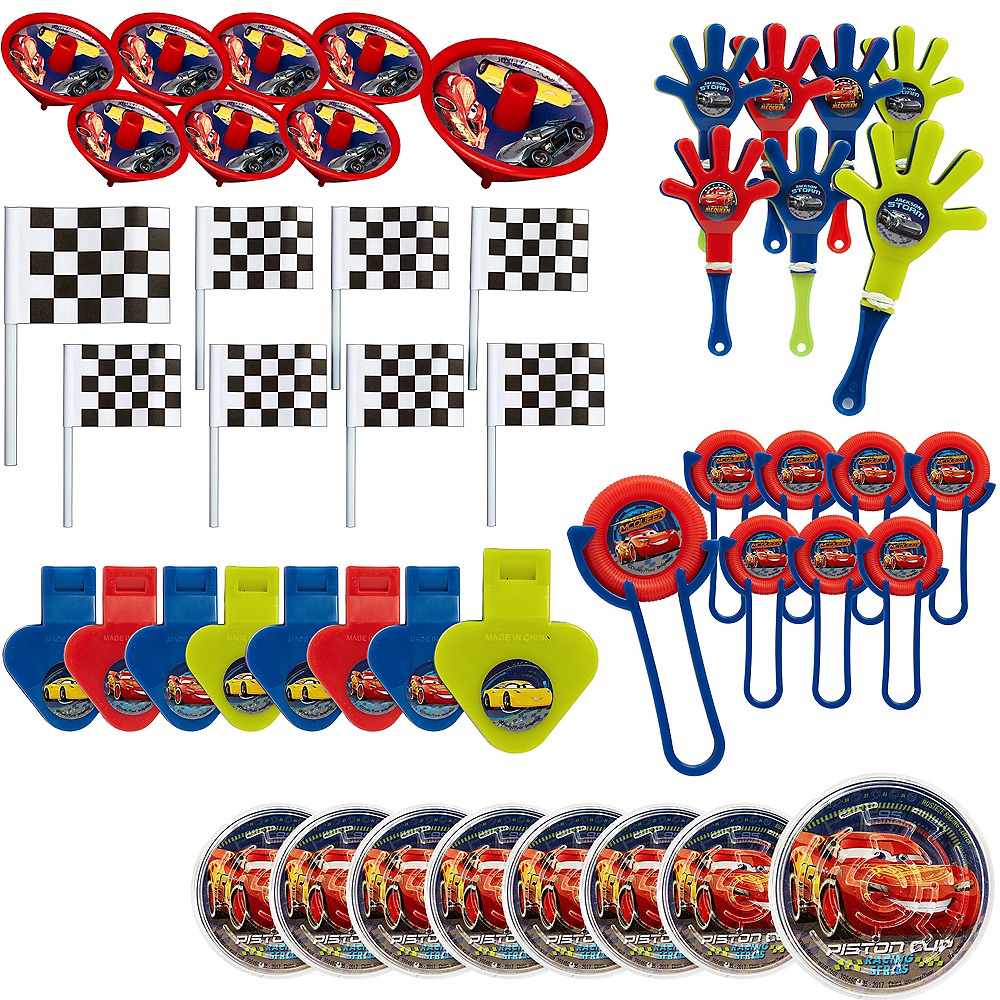 Cars 3 Favor Pack 48pc Image #1