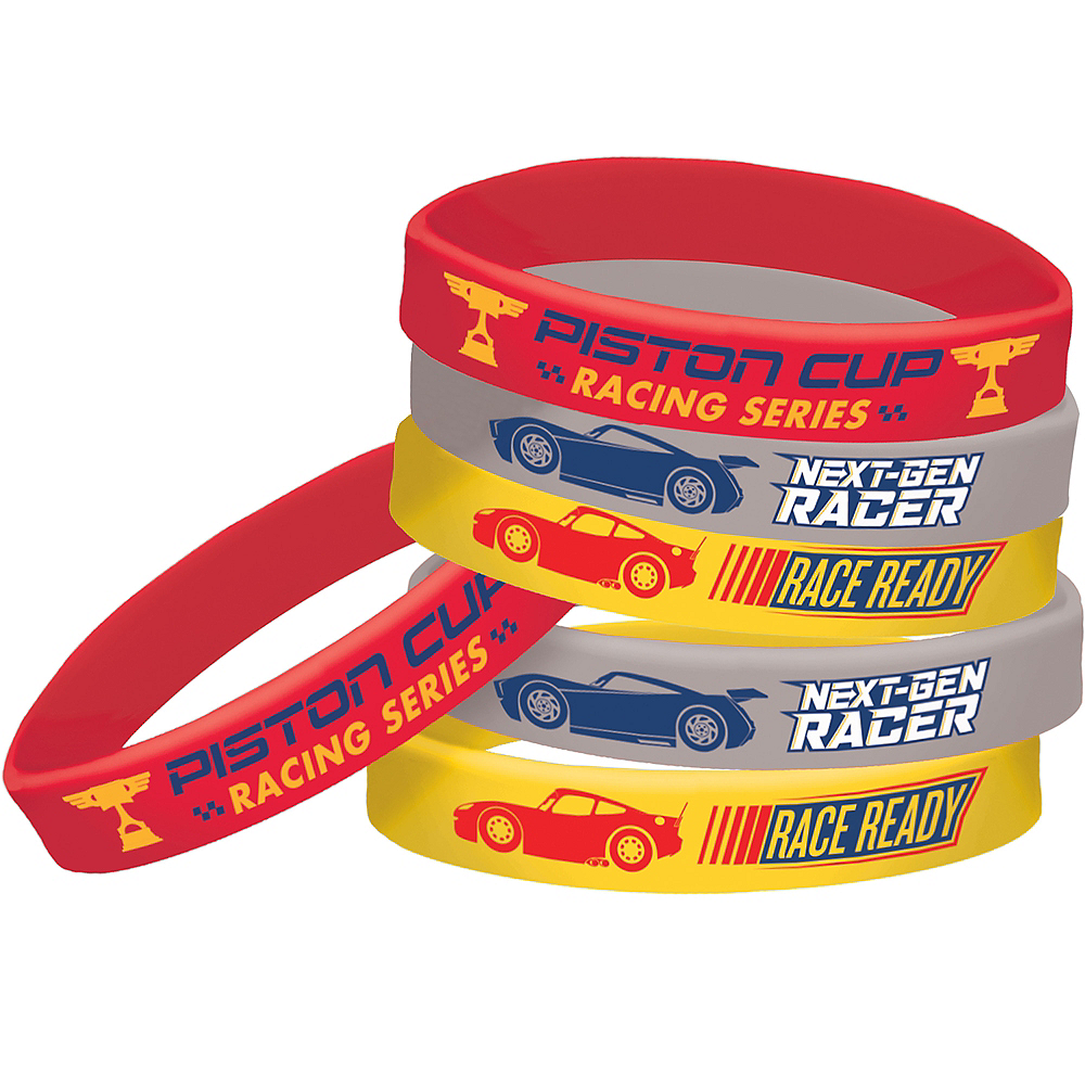 Cars 3 Wristbands 6ct Image #1