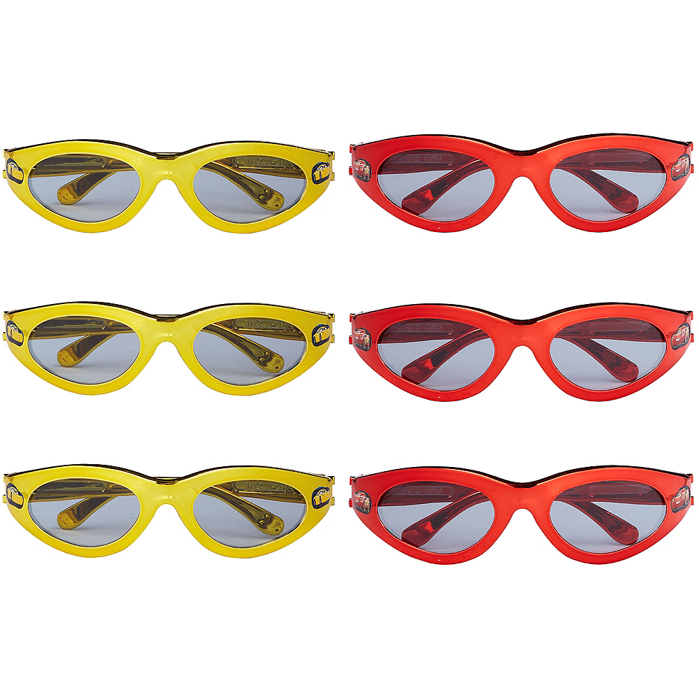 Cars 3 Sunglasses 6ct Image #1