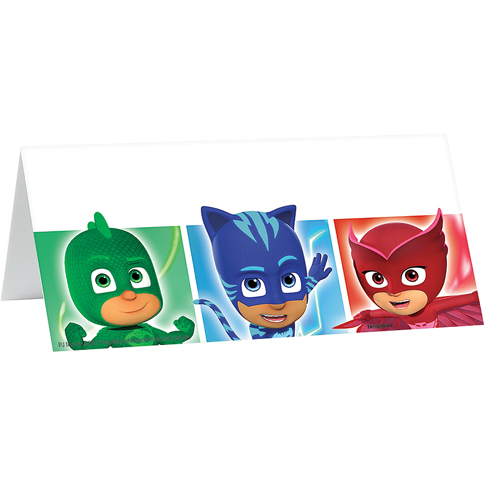 PJ Masks Party Welcome Kit for 12 Guests Image #3