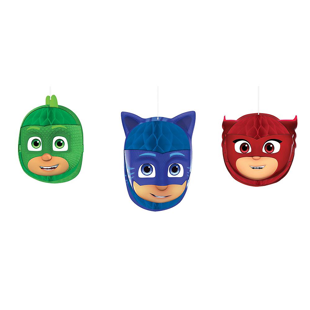 PJ Masks Honeycomb Balls 3ct Image #1