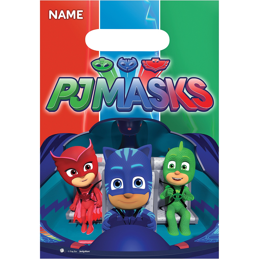 PJ Masks Favor Bags 8ct Image 1