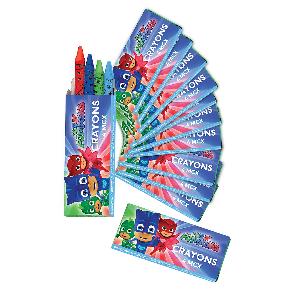 PJ Masks Crayon Boxes 12ct Image #1