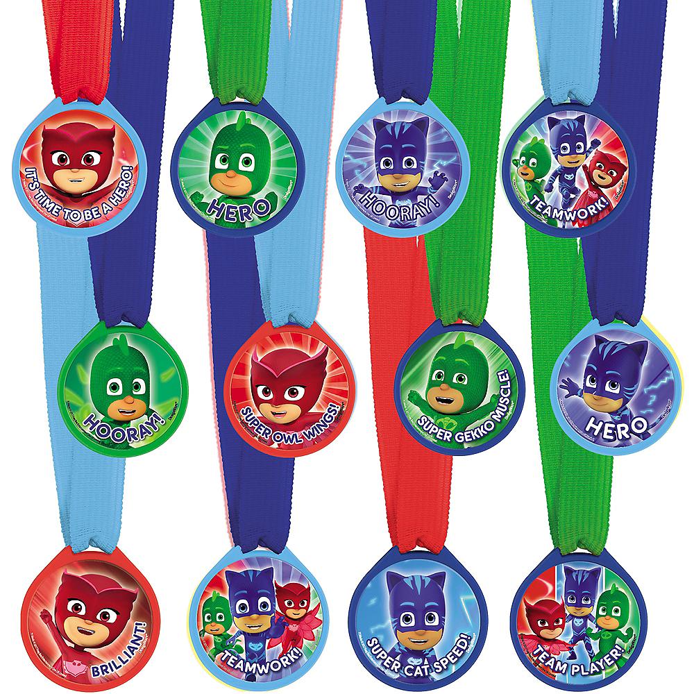 PJ Masks Award Medals 12ct Image #1