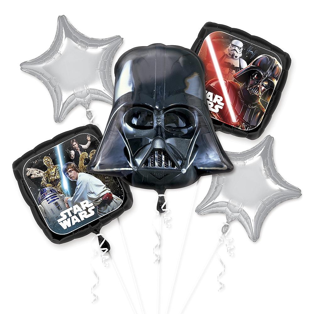 Star Wars Balloon Bouquet 5pc Image #1