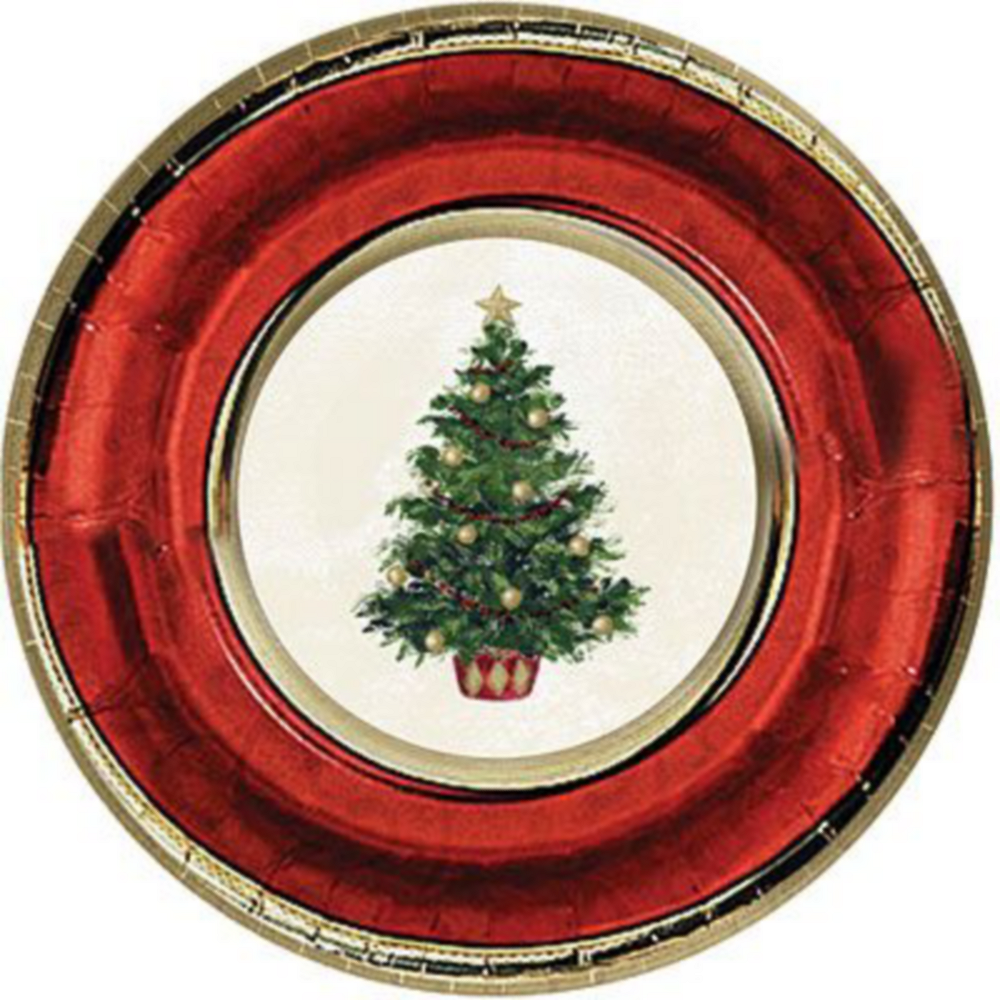 Classic Christmas Tree Tableware Kit for 16 Guests Image #2