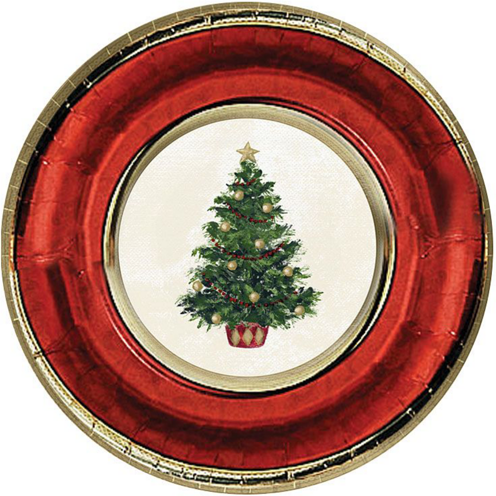 Classic Christmas Tree Tableware Kit for 16 Guests Image #3