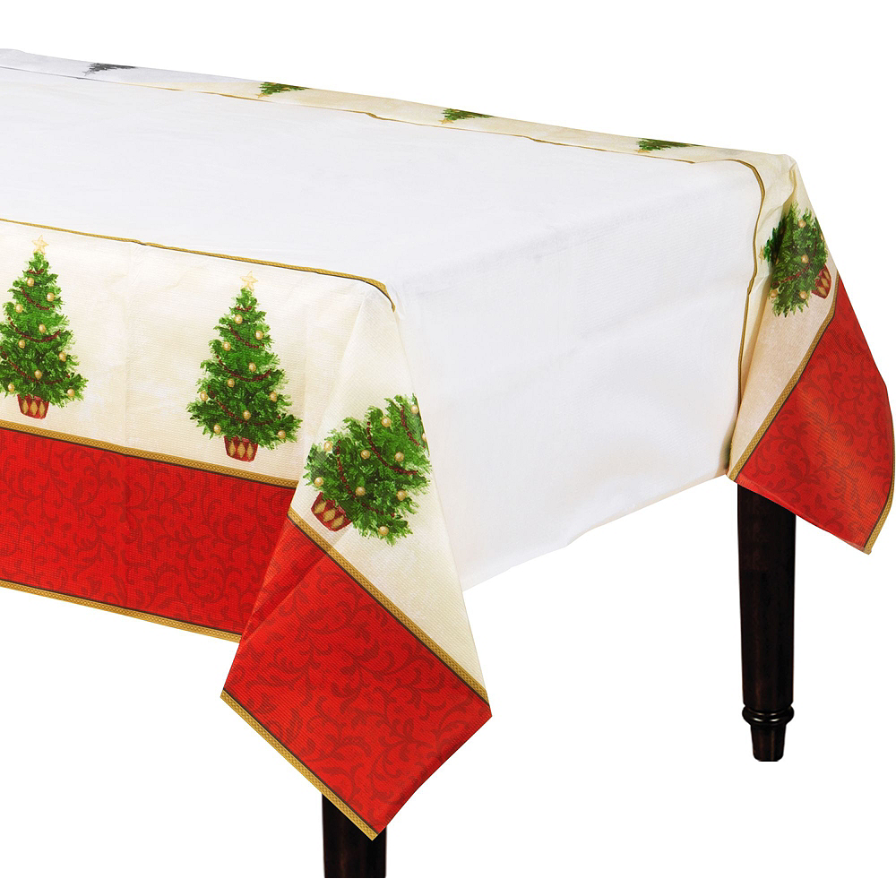 Classic Christmas Tree Tableware Kit for 16 Guests Image #7