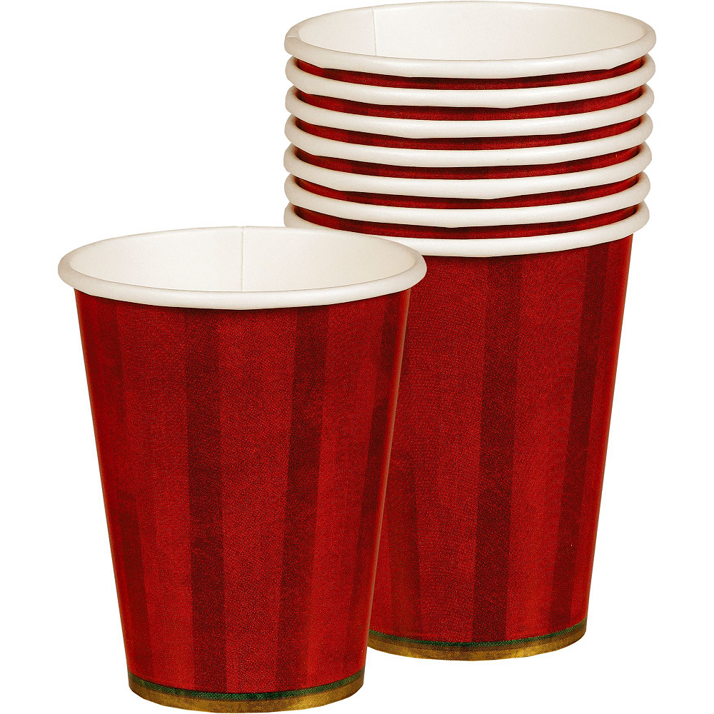 Twinkling Christmas Tree Tableware Kit for 50 Guests Image #6