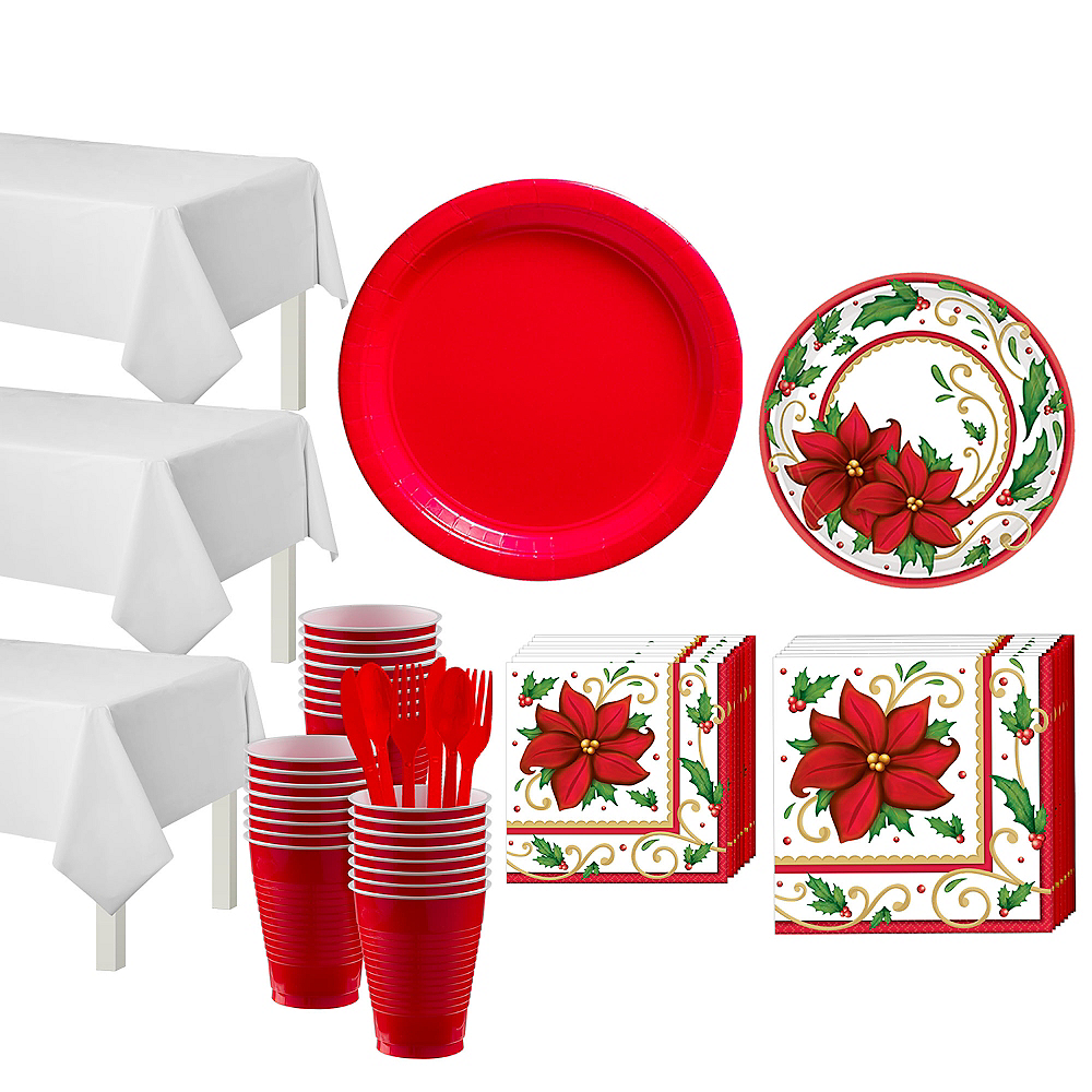 Winter Botanical Tableware Kit for 50 Guests Image #1