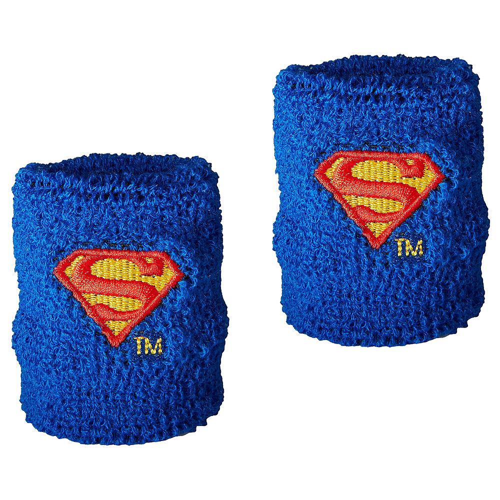 Superman Sweatbands 8ct - Justice League Image #1