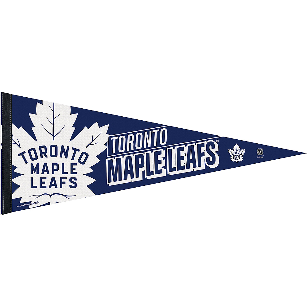 Toronto Maple Leafs Pennant Flag Image #1