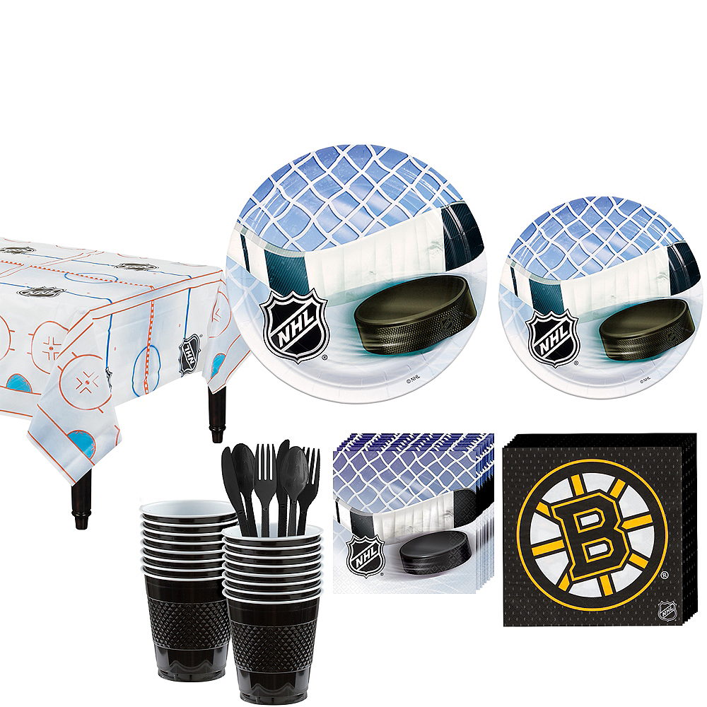 Boston Bruins Party Kit for 16 Guests Image #1
