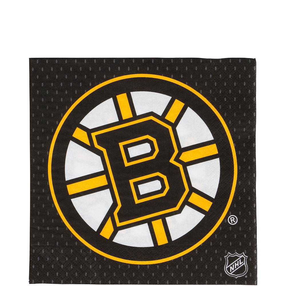 Super Boston Bruins Party Kit for 16 Guests Image #5